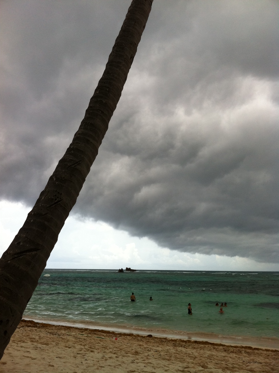 Aftermath of Hurricane Irene, Punta Cana, Dominican Republic, August 25, 2011